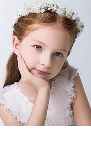 Persephone Flower Girl Headpiece