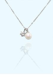 Pearl and Diamond Jewelry Set