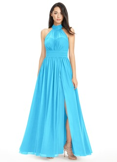 Pool Bridesmaid Dresses &amp- Pool Gowns - Azazie