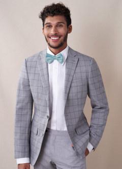 azazie-Gentlemen's Collection Men's Matte Satin pre-tied bow tie