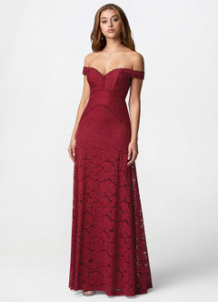 Dance With Me Burgundy Maxi Dress