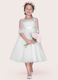 Azazie Haizea Flower Girl Dress