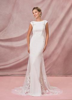 azazie-Azazie Hennessy Wedding Dress