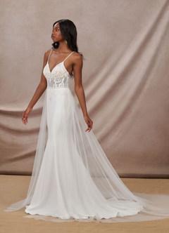azazie-Azazie Saffron Wedding Dress