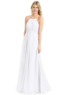 White Bridesmaid Dresses & White Gowns | Azazie
