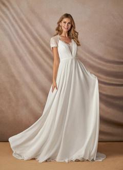 azazie-Azazie Salem Wedding Dress
