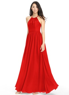 Red Bridesmaid Dresses &amp- Red Gowns - Azazie