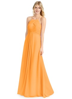 Salmon Bridesmaid Dresses & Salmon Gowns | Azazie