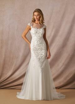azazie-Azazie Eudora Wedding Dress