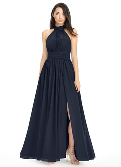 Navy Blue Bridesmaid Dresses &amp- Navy Blue Gowns - Azazie