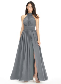 Steel Grey Bridesmaid Dresses & Steel Grey Gowns | Azazie