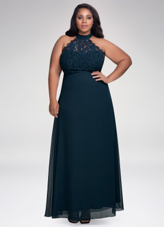 Fashionista Dark Navy Maxi Dress
