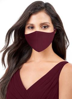 azazie-Azazie Non-Medical Matte Satin Reusable Face Mask With Adjustable Loop