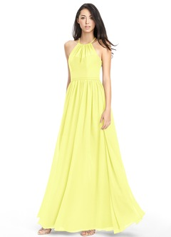 Canary Yellow Bridesmaid Dresses &amp Canary Yellow Gowns  Azazie