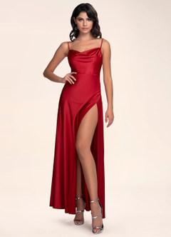 Be Mine Raspberry Maxi Dress