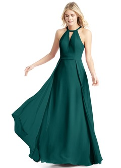 Teal color dresses for bridesmaid