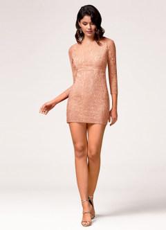 Perfect Day Blush Mini Dress