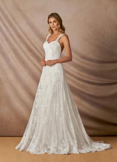 azazie-Azazie Penelope Wedding Dress