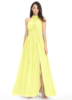 Canary Yellow Bridesmaid Dresses & Canary Yellow Gowns | Azazie