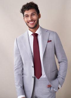 azazie-Gentlemen's Collection Matte Satin Wide Tie