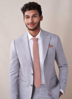 azazie-Gentlemen's Collection Matte Satin Skinny Tie