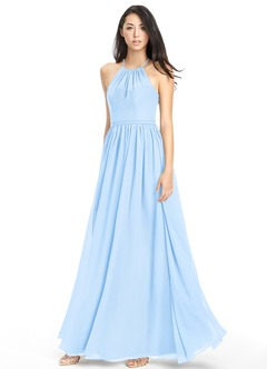 Sky Blue Bridesmaid Dresses & Sky Blue Gowns | Azazie