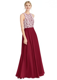 Burgundy Color Dresses