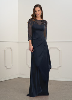 azazie-Azazie Olive Mother of the Bride Dress