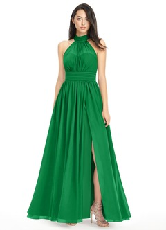 Emerald Flower Dresses