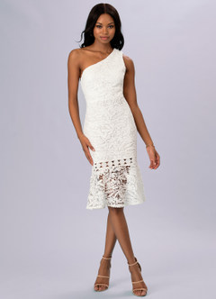 azazie-Blush Mark Every Season White Midi Dress