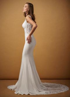 azazie-Azazie Bai Wedding Dress