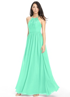 Turquoise Bridesmaid Dresses & Turquoise Gowns | Azazie
