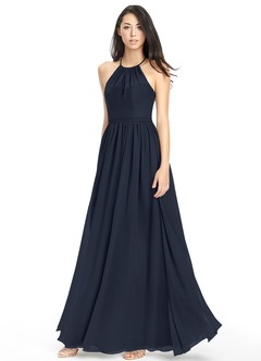 Dark Navy Bridesmaid Dresses &amp- Dark Navy Gowns - Azazie