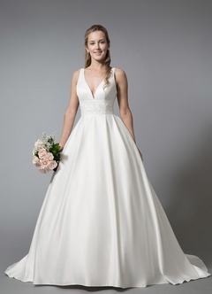 White wedding dresses white bridal gowns azazie azazie aileen bg junglespirit Choice Image
