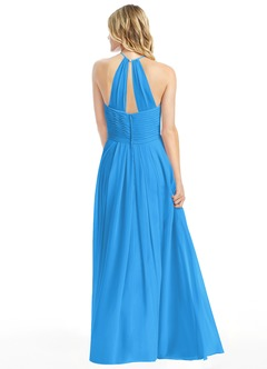 Ocean blue bridesmaid dresses ocean blue gowns azazie for Ocean blue wedding dress