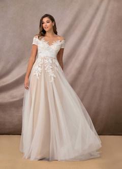 azazie-Azazie Cindy Wedding Dress