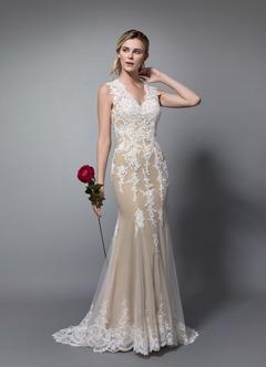 a95aec5b07 Azazie Honey Wedding Dress