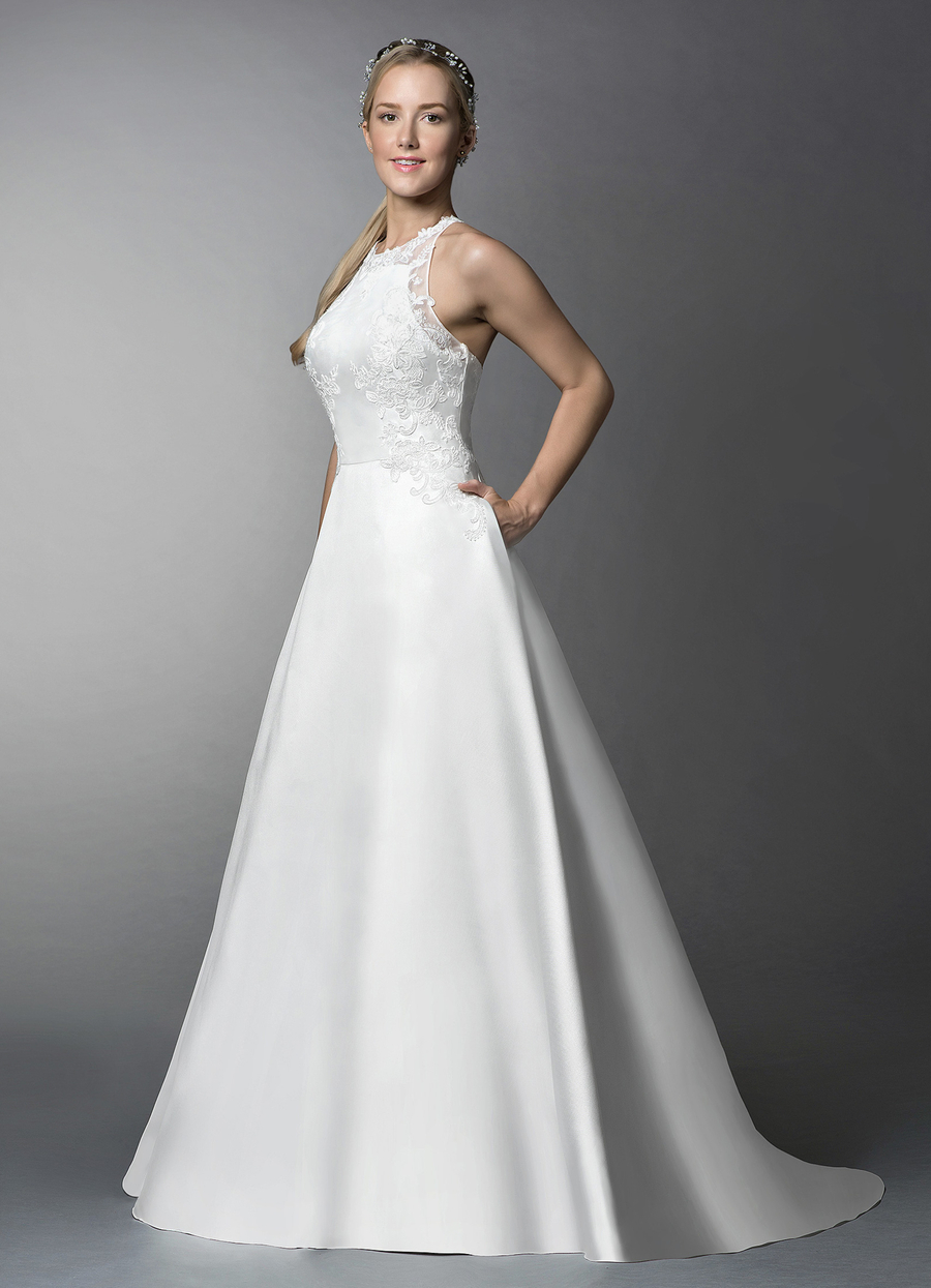 Azazie Lucky Wedding Dress