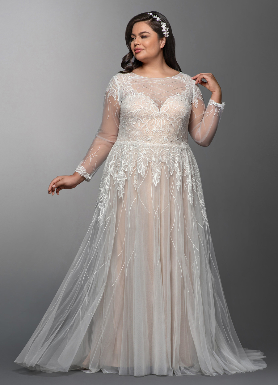 Azazie Elvina Wedding Dress