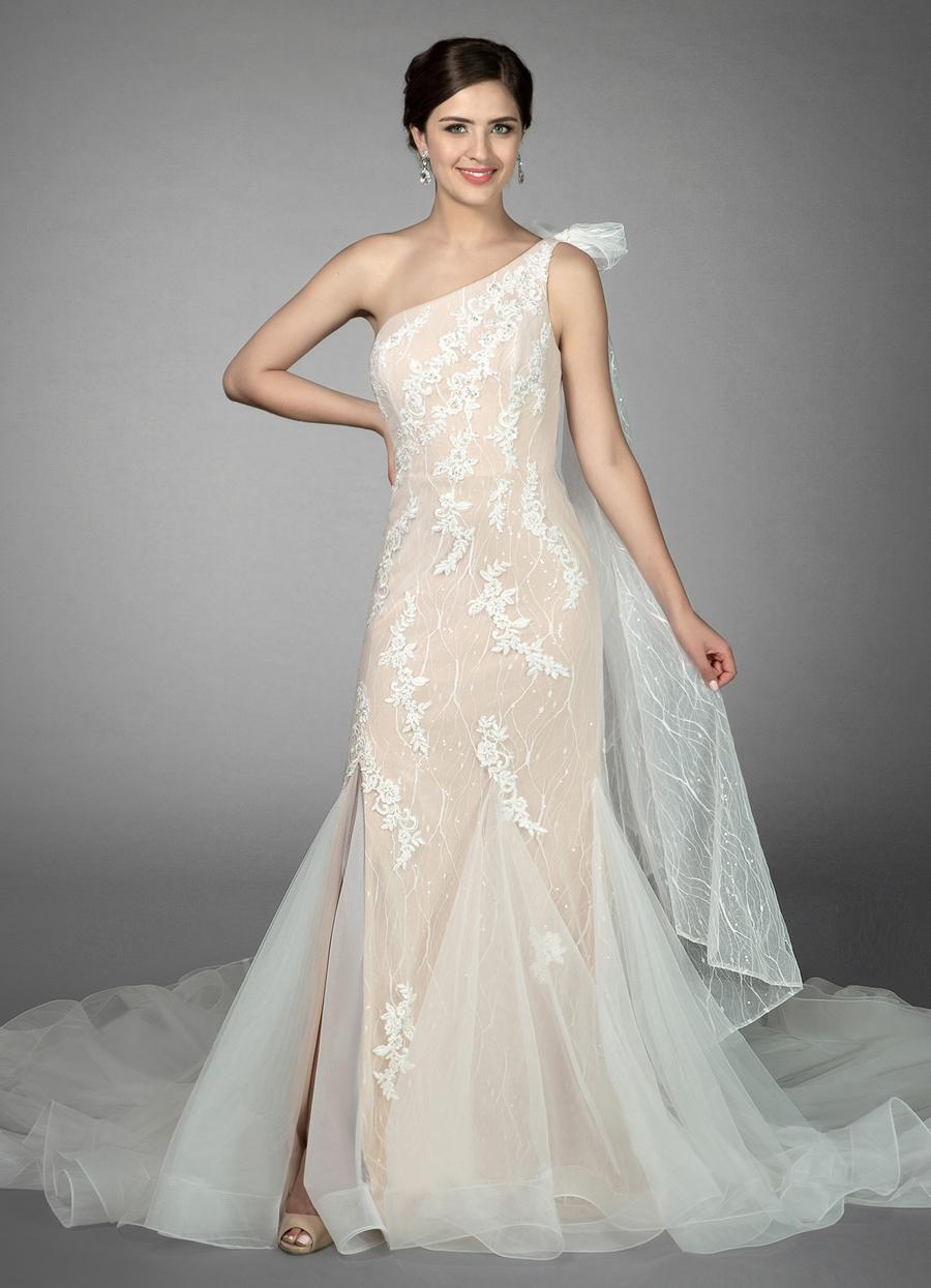 Azazie Quincy Wedding Dress