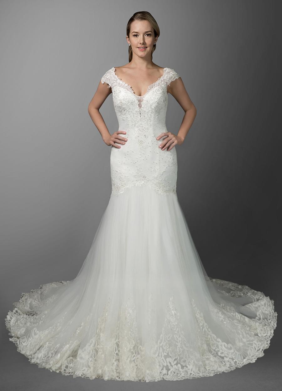 Azazie Bexley Wedding Dress