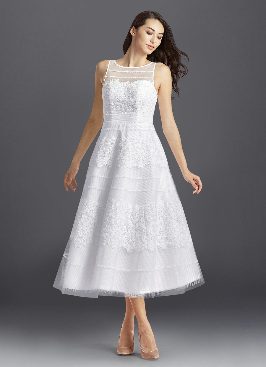 Azazie Azul Wedding Dress