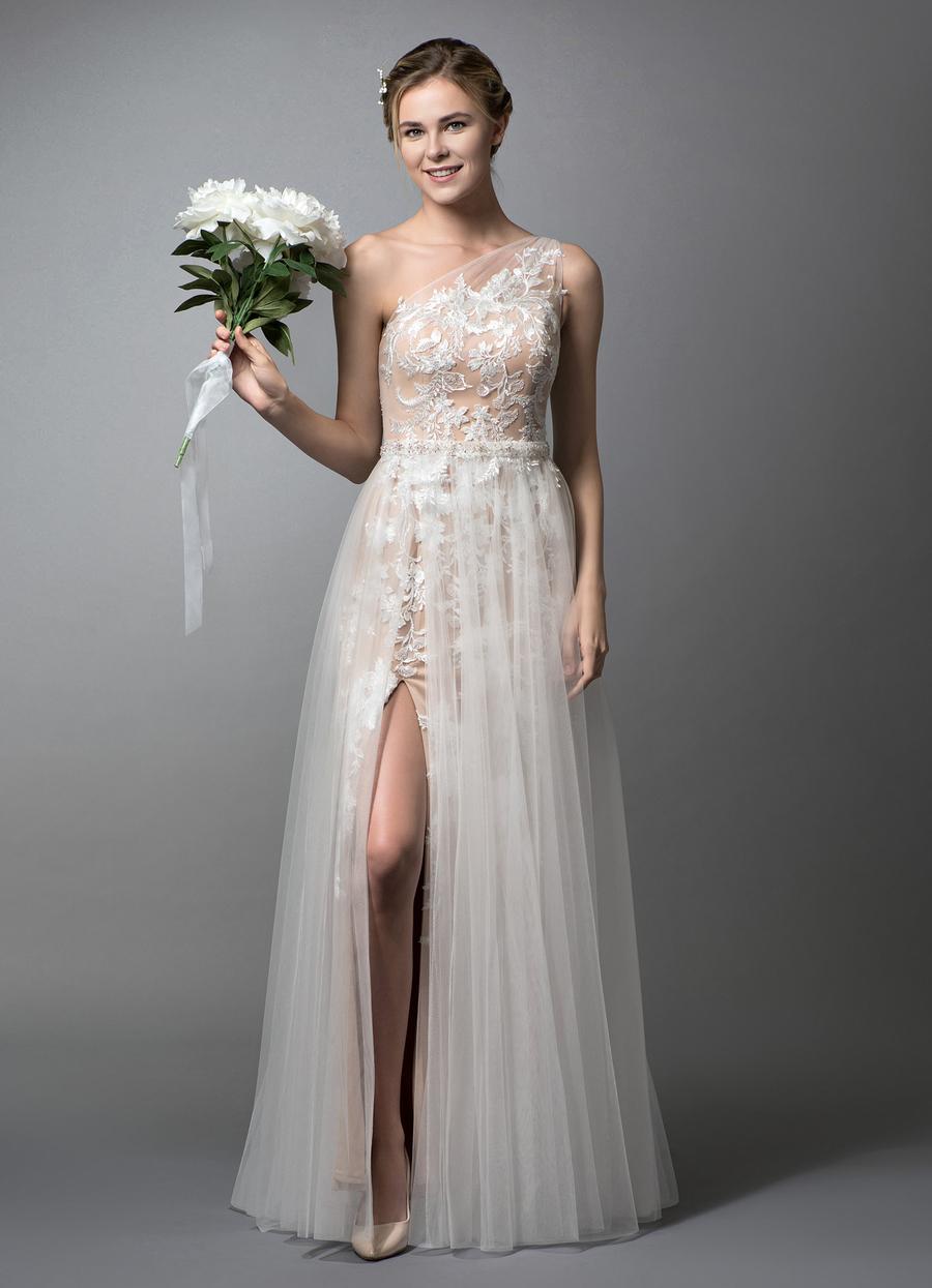 Azazie Elodie Wedding Dress