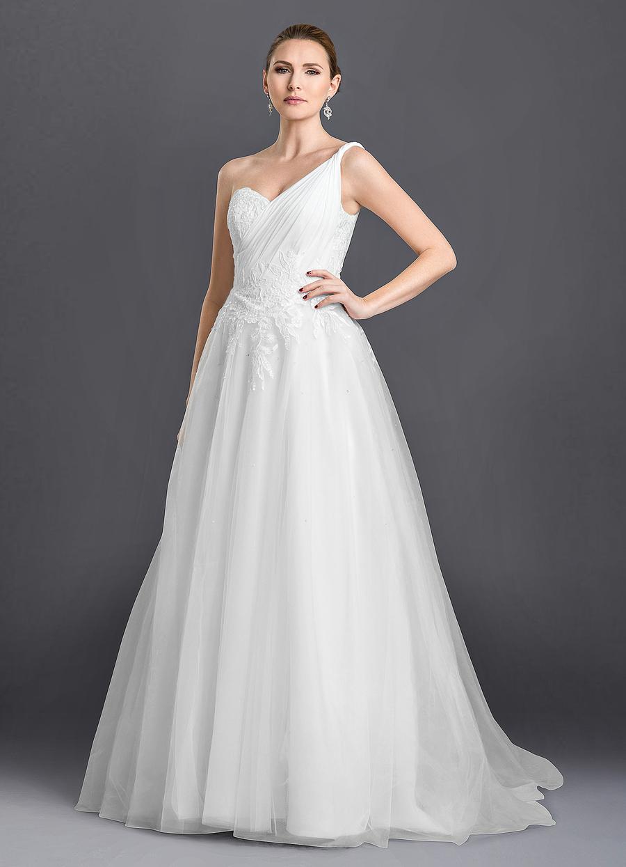 Azazie Courtney Wedding Dress