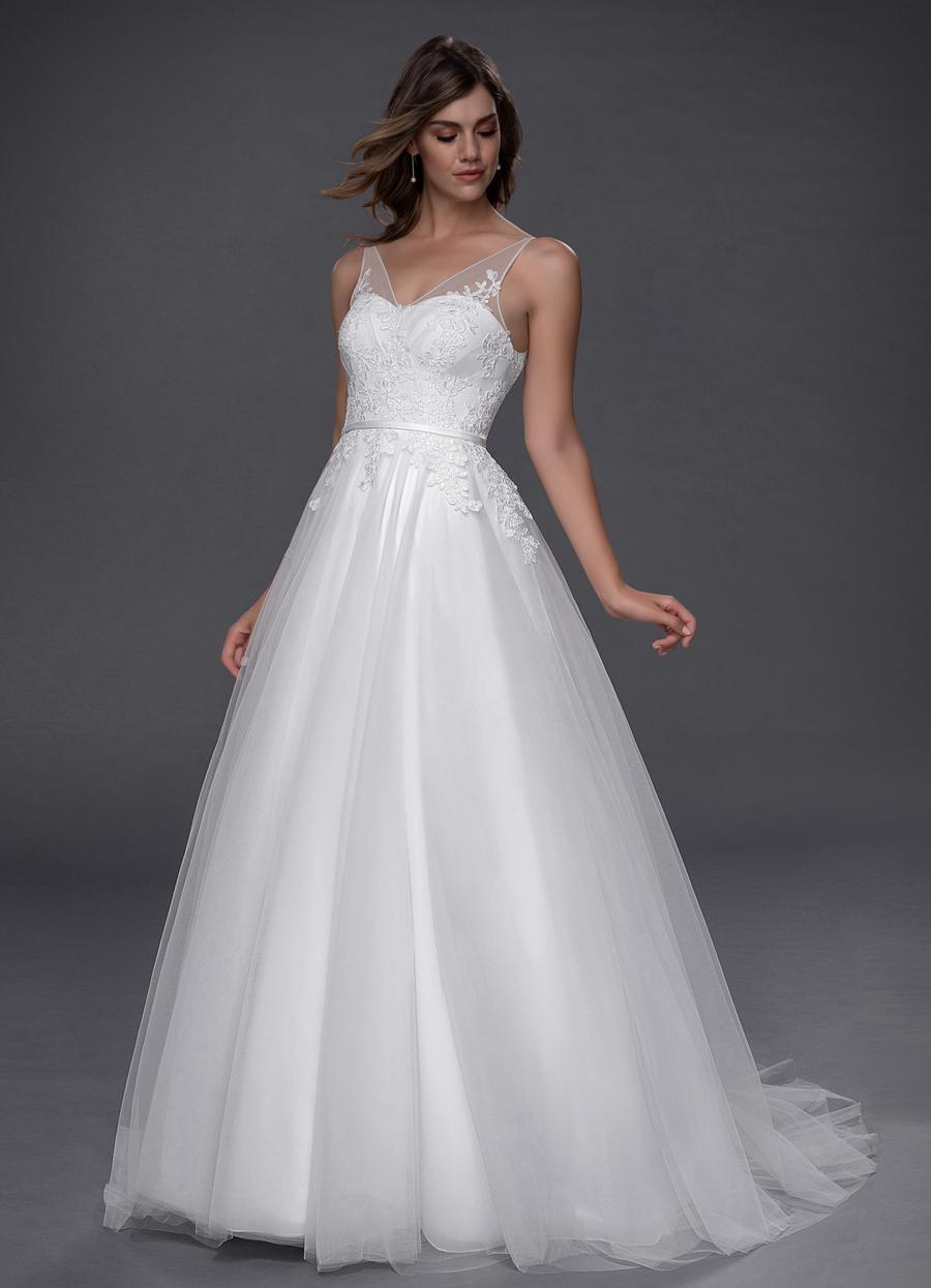 Azazie Aimee Wedding Dress