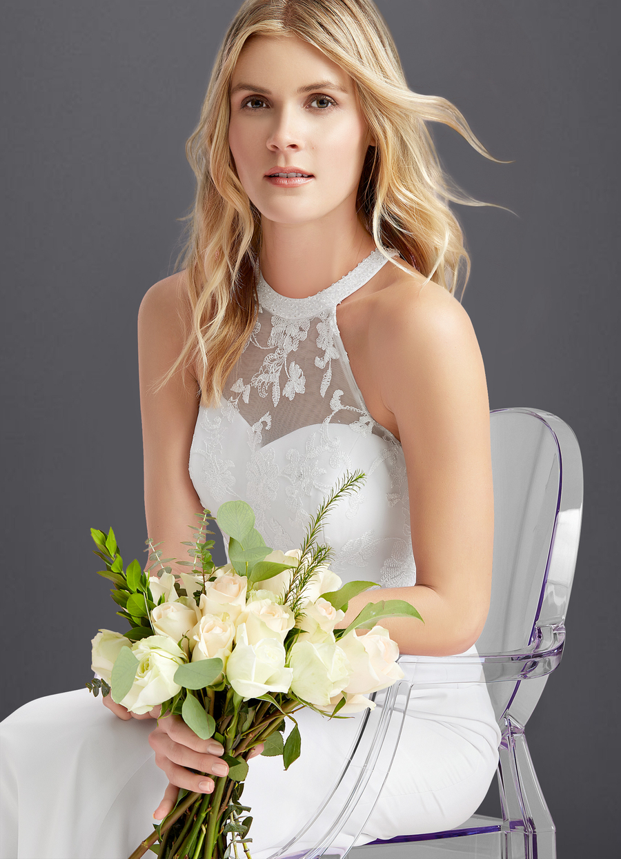 Azazie Louise Wedding Dress