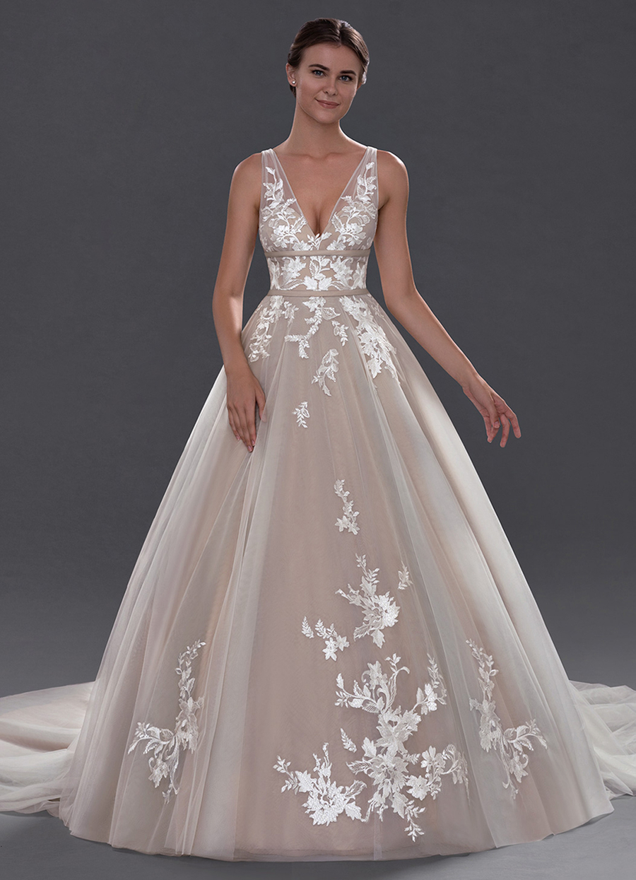 Azazie Lafayette Wedding Dress