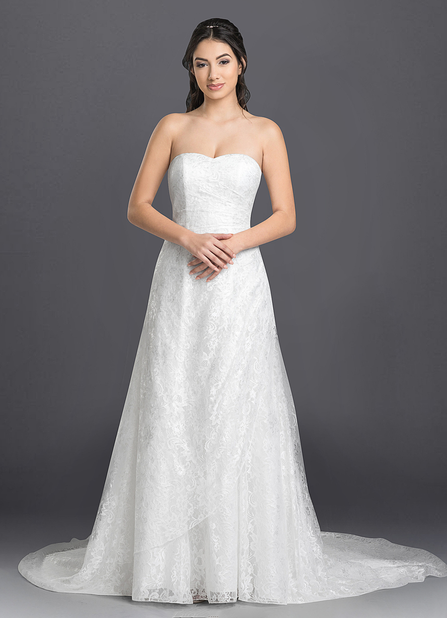Azazie Baily Wedding Dress
