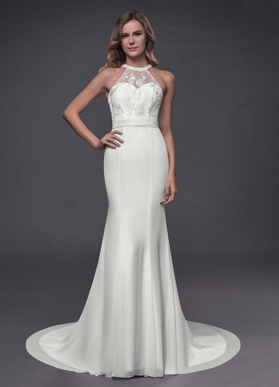 Azazie Louise Wedding Dress