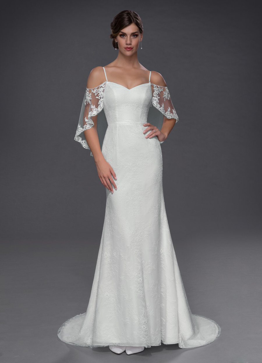 Azazie Phoenix Wedding Dress
